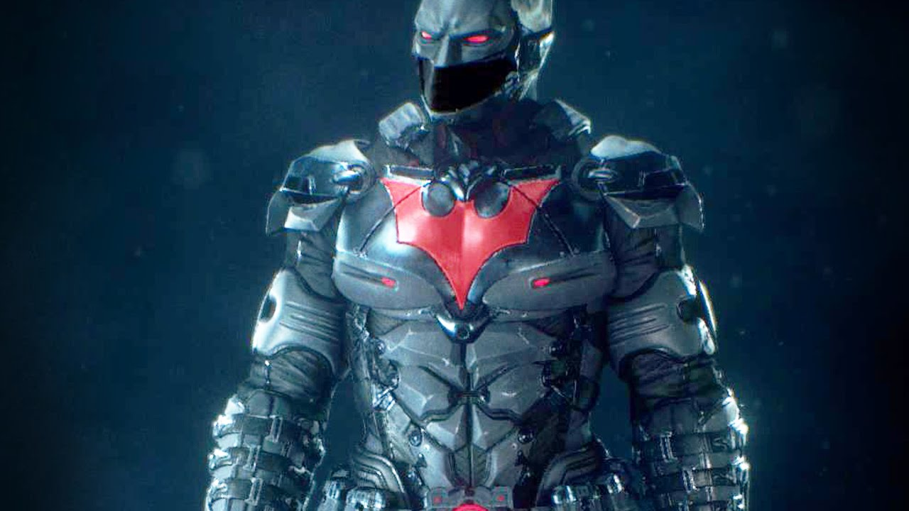 Batman Arkham Knight Batman Beyond Batsuit Dlc Youtube