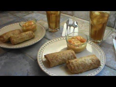 Phyllo Ham and Cabbage Rolls