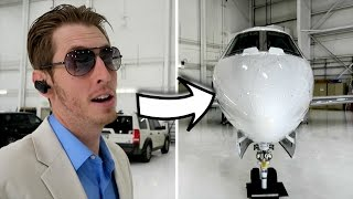 WE GOT A PRIVATE JET!