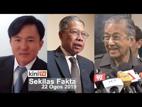 SEKILAS FAKTA : Exco Perak dijangka didakwa esok, Dr M jawab isu rombakan kabinet