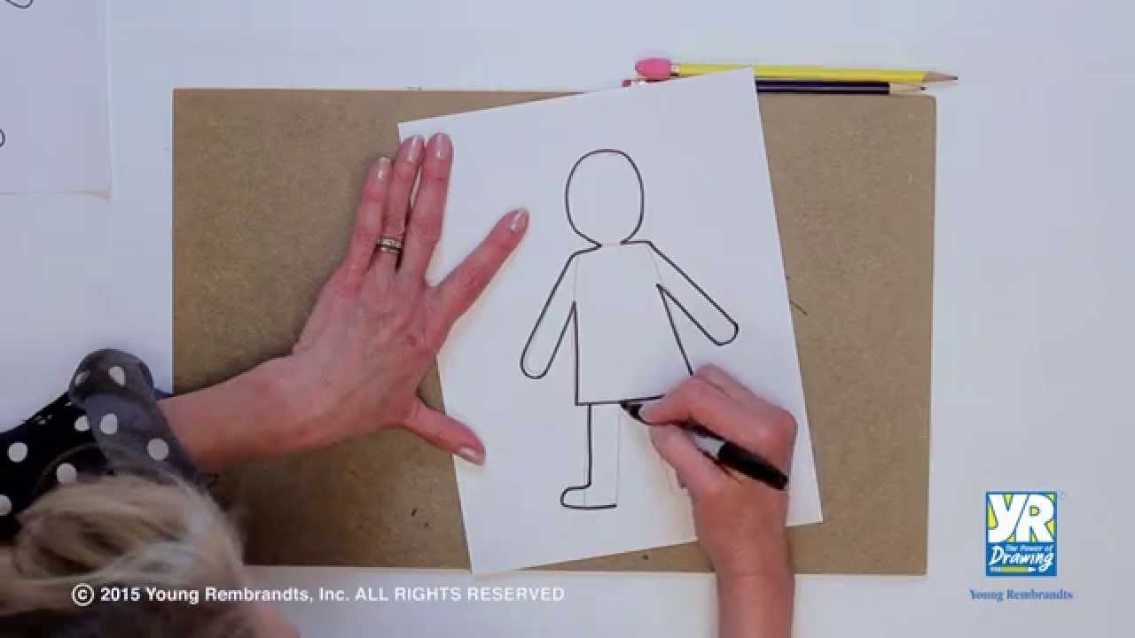 How To Draw A Girl Video