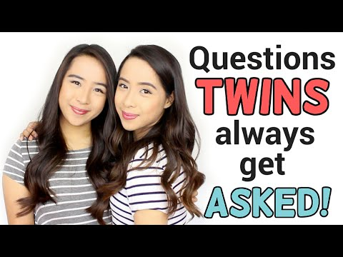 Questions Twins ALWAYS get asked! | Samantha and Madeleine