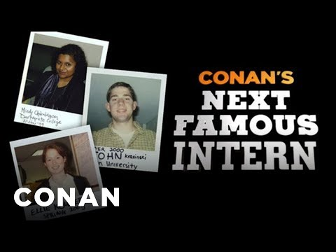 Conan's Next Famous Intern
