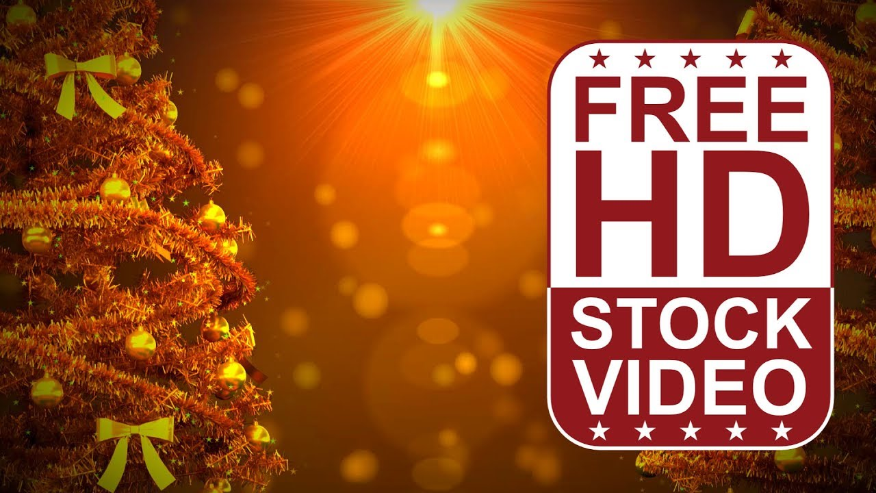 FREE HD Video Backgrounds Celebrations Christmas Frame