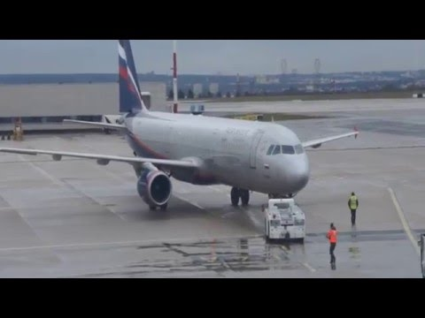 Aeroflot New Business Class Paris CDG to Moscow SVO SU2455