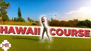 """Golf Course Vlog"" - Klipper Golf Course in Hawaii Part 1"