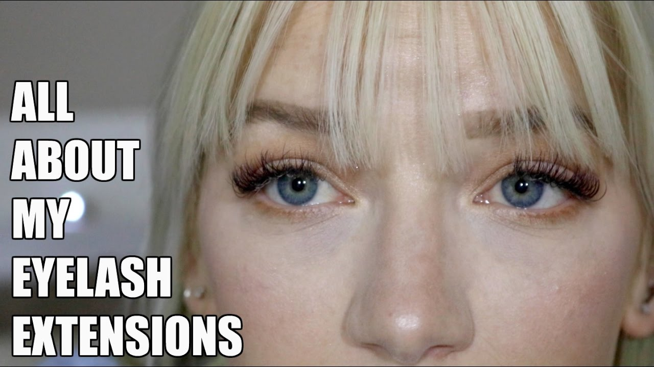 a530647d468 EYELASH EXTENSIONS | Tips, Review, and Eyelash Extension Application  Footage | KendraCus