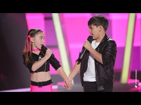 Thumbnail: Anthony & Tamara Sings We Go Together | The Voice Kids Australia 2014