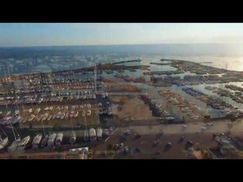 Beautiful aerial video of nettuno/anzio - DJI Phantom 3