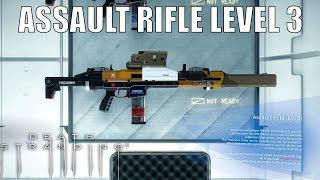 DEATH STRANDING - Assault Rifle Lv. 3 - Non-lethal Assault Rifle Lv. 3 Design Data