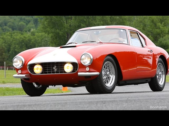 Watch the incredible 1959 Ferrari 250 GT Competizione Alloy Berlinetta