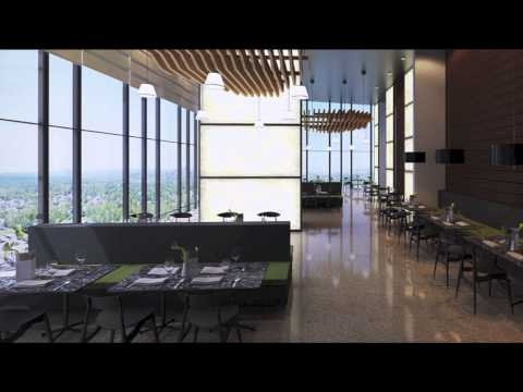 CENTURY SPIRE OFFICE - Studio Daniel LIbeskind , Armani Casa and Century Properties