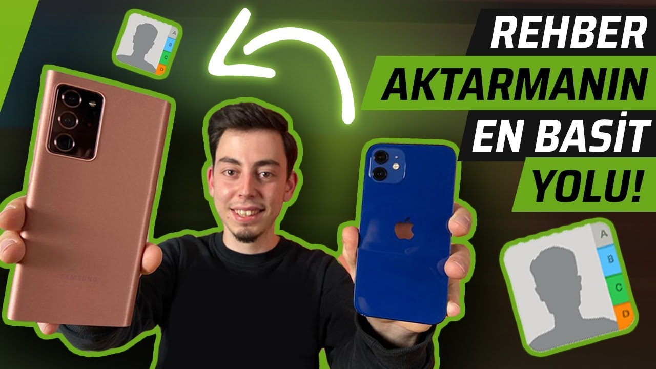 Rehber nasıl aktarılır? Android telefona geçiyorum #1