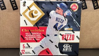CASE BREAK!! 2017 Panini Chronicles Baseball