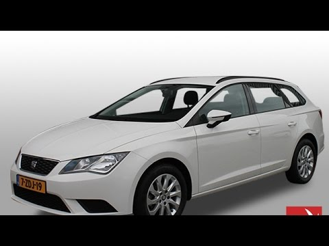 seat leon st 1 2 tsi reference airco lichtmetaal youtube. Black Bedroom Furniture Sets. Home Design Ideas