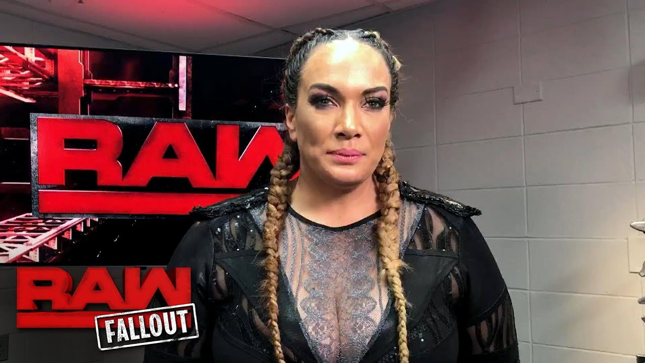Nia Jax will represent her family in the Women's Royal Rumble Match: Raw Fallout, Dec. 19, 2017