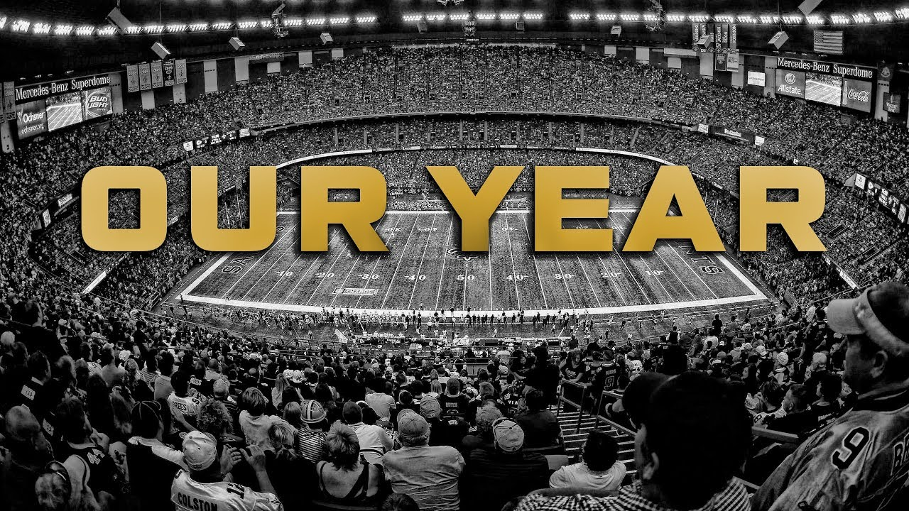 New Orleans Saints 2017 2018 Official Hype Video Youtube