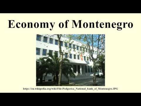 Economy of Montenegro