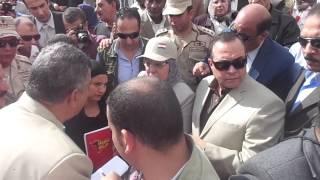 قناة السويس الجديدة: محافظ الاسماعيلية وزيرة القوى العاملة يكرمان شهداء قناة السويس