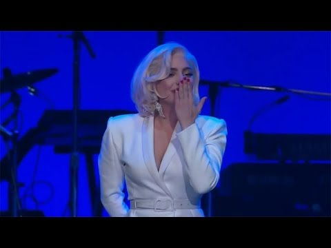 Lady Gaga  The Edge of Glory  at One America Appeal