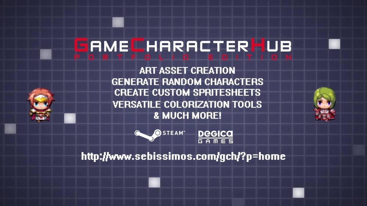 Game Character Hub: Portfolio Edition - Tráiler