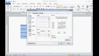 Как сделать подчеркивающиеся строки в MS Word