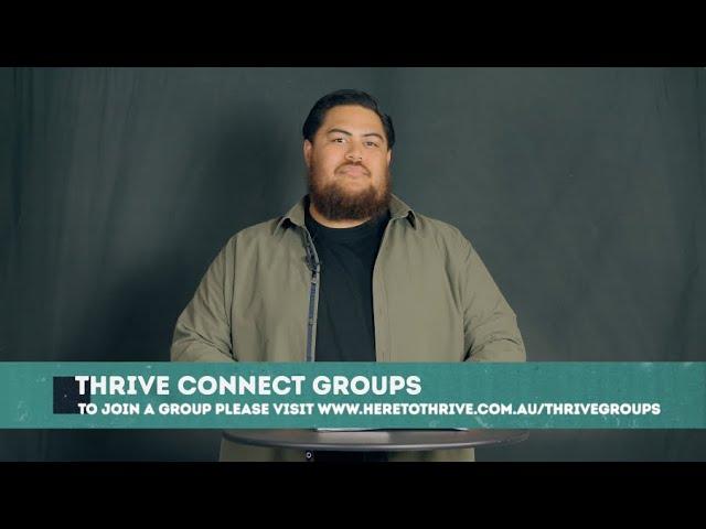 Thrive Church Online | 25th July | Lucas Paleaae
