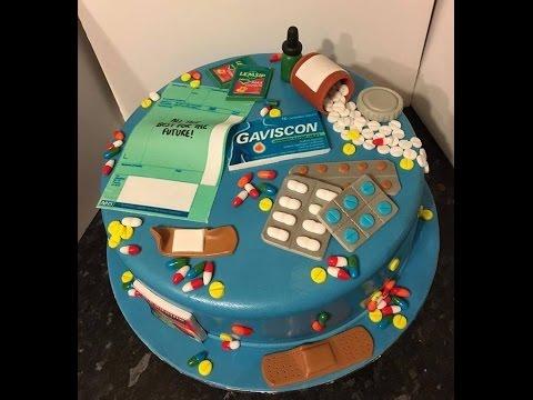 Pharmacy Nurse Cake Youtube