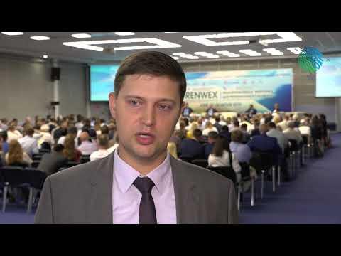 """Алексей Жихарев о выставке RENWEX 2019 и Форуме """"Возобновляемая энергетика ..."""