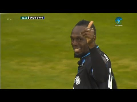 Usain Bolt vs England XI Soccer Aid (Debut) 10/06/2018 Commentary | Zico7