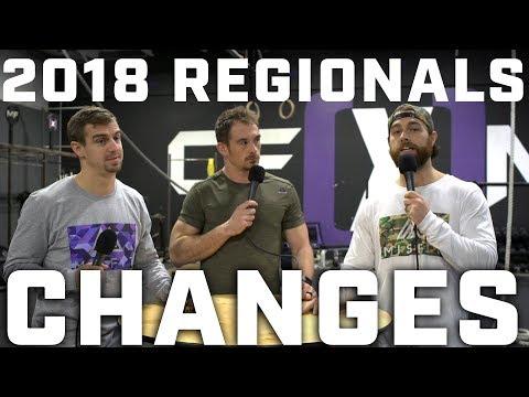 2018 Crossfit Regionals Changes Announced - Misfit Athletics Podcast