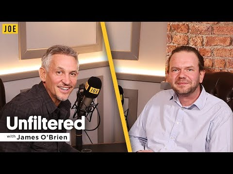 Gary Lineker interview on football, refugees & politics | Unfiltered with James O'Brien #16