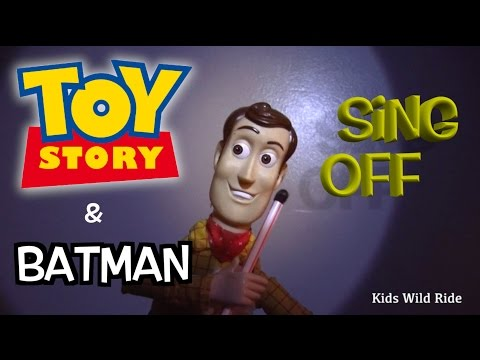TOY STORY 4 Musical Parody:  Batman Toys vs Woody | Batman Parody Song | Sting The Police
