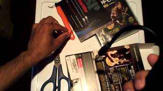 Unboxing of BandFuse: Rock Legends Artist Pack on Sony PlayStation 3 (including SpeedFuse cable)