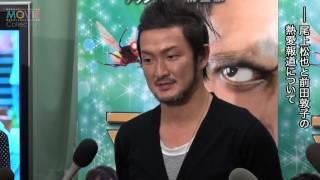 中村獅童/『マッキー』アフレコ会見 (作品詳細はこちら) http://www....
