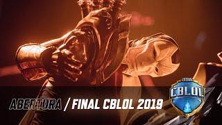 CBLoL 2019: 2ª Etapa - Grande Final | Cerimônia de Abertura