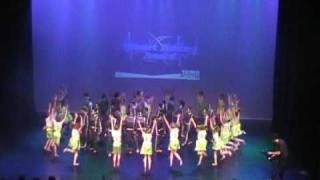hda 2009 halve finale St Christoffelschool uit Aalst-Waalre Heart Dance Award 31 maart