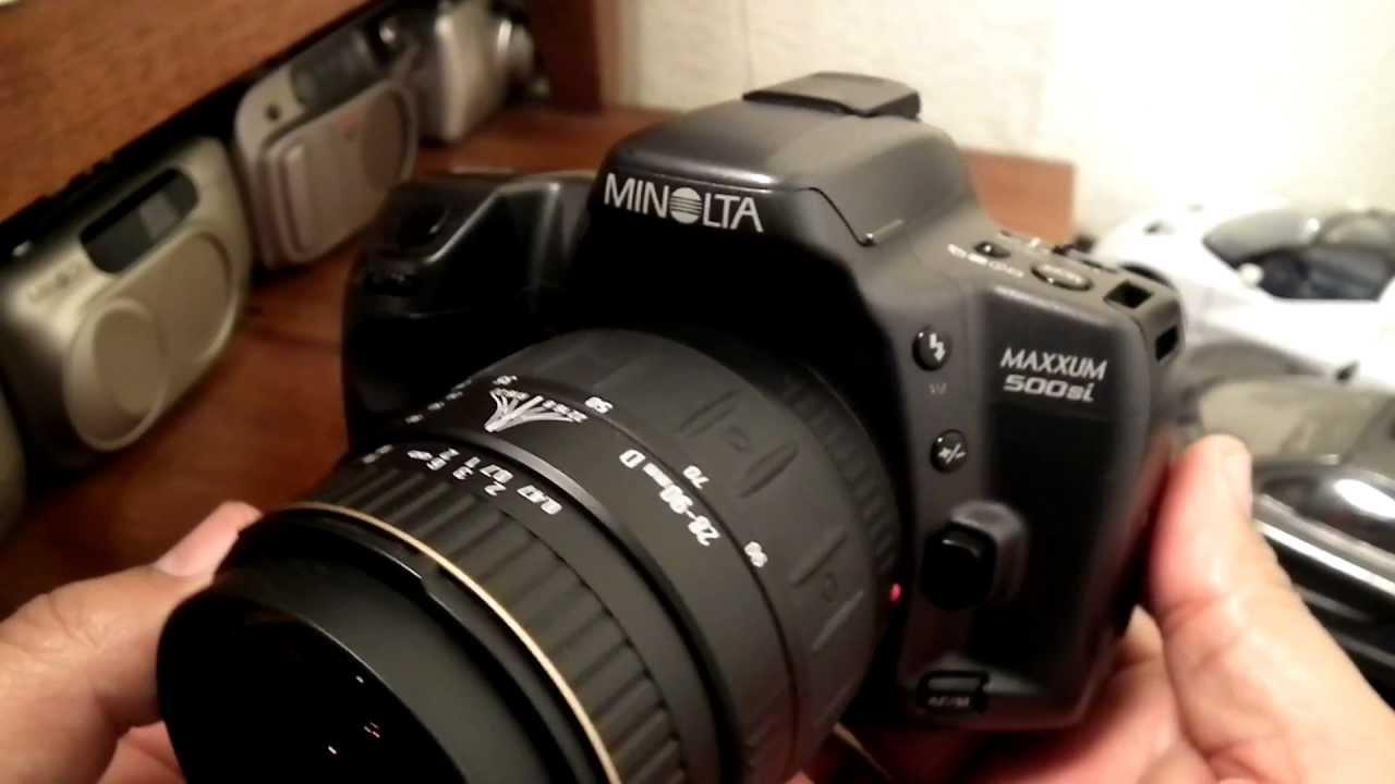 minolta maxxum 500si slr af 35mm film youtube rh youtube com minolta maxxum 300si manual minolta maxxum 300si manual