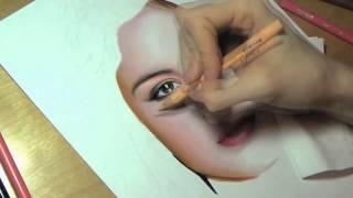 Рисуем портрет Селены Гомес(, 2015-04-29T13:01:47.000Z)