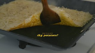 [SUB] What to do with 4kg potatoes?| Honeykki 꿀키