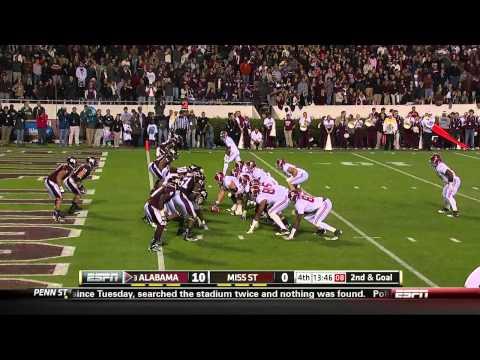 Trent Richardson vs Mississippi State 2011
