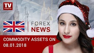 InstaForex tv news: 08.01.2018: Oil holds at highs