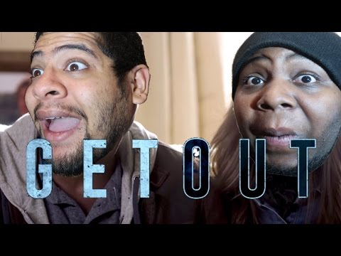 Thumbnail: GET OUT MOVIE TRAILER REACTION- Chavezz and Dr J and The Women REACT