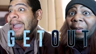 GET OUT MOVIE TRAILER REACTION- Chavezz and Dr J and The Women REACT