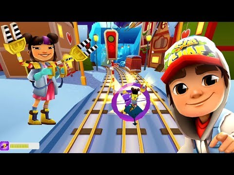 SUBWAY SURFERS WINTER HOLIDAY 2019 : YUTANI GADGET OUTFIT # D1