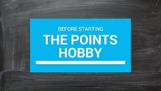 Before Starting the Points HobbyPreparing for Credit Cards & Free Travel