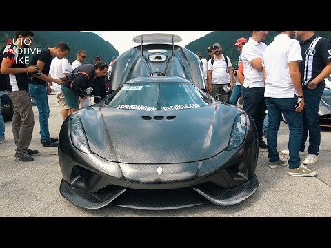KNC Koenigsegg Regera FULL Throttle Drag Race!