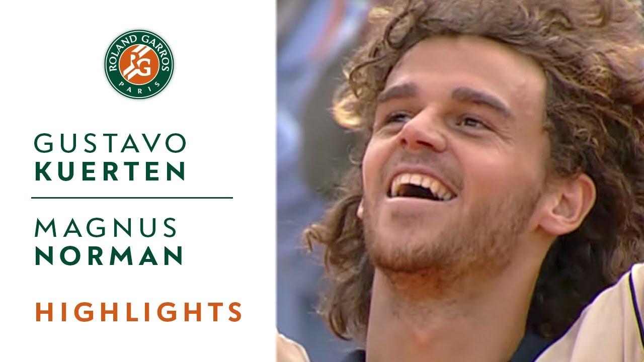 Gustavo Kuerten v Magnus Norman Highlights Men s Final I Roland