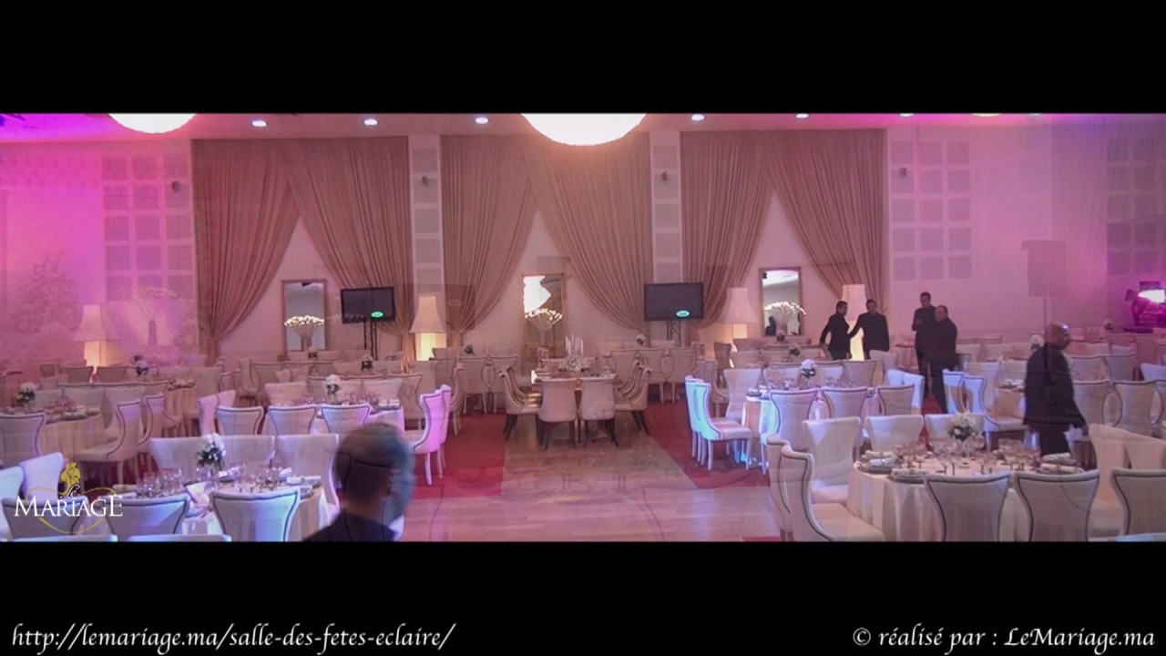 Salle Des Fetes Eclaire Rabat