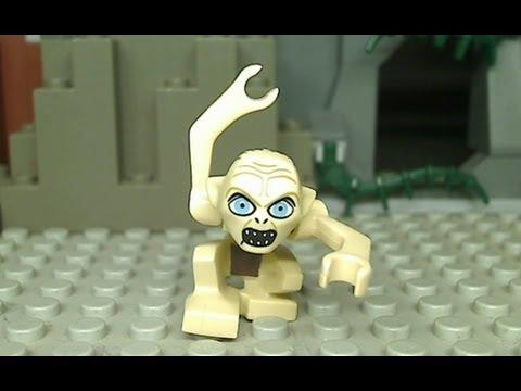 Gollum does Gangnam Style in LEGO